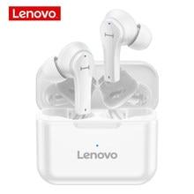 Lenovo-auriculares inalámbricos QT82 con sonido estéreo HIFI 9D, cascos deportivos a prueba de agua con Bluetooth y micrófono, caja de batería de 400mAh