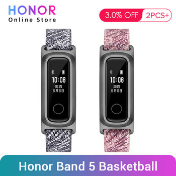 New Huawei Honor Band 5 Smart Band Basketball Data Monitor Smart Sports Bracelet Wrist & Footwear Dual Modes 50m Water Resistant