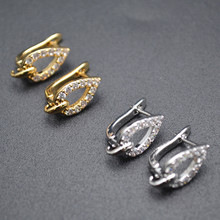 Variou shape Gold and Silver Color Earring Hooks Fit Dangle Earrings Making Jewelry Findings