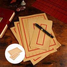1 zestaw papeterii koperta papierowa bezpieczny elegancki ładny prezent na papier firmowy tanie tanio China