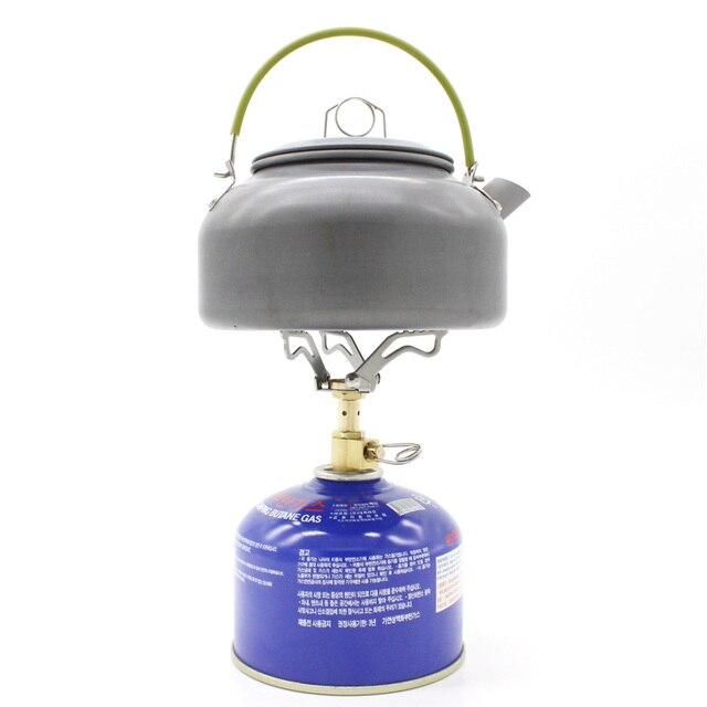 3000w Micro Portable Mini Lightweight Camping Stove Hiking Folding Gas Cooking