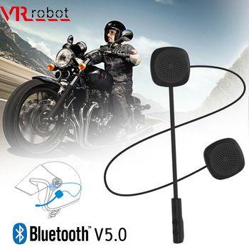 VR robot Bluetooth 5.0 Moto Helmet Headset Wireless Handsfree Stereo Earphone Motorcycle Helmet Headphones MP3 Speaker
