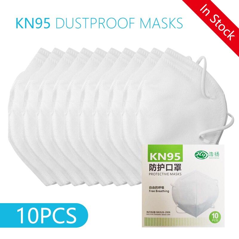 KN95 Anti Virus Mask Mascherine Anti NCoV PM2.5 Dustproof Masks Antivirus Influenza Bacterial Respirator N95 Anti Fog Haze Masks