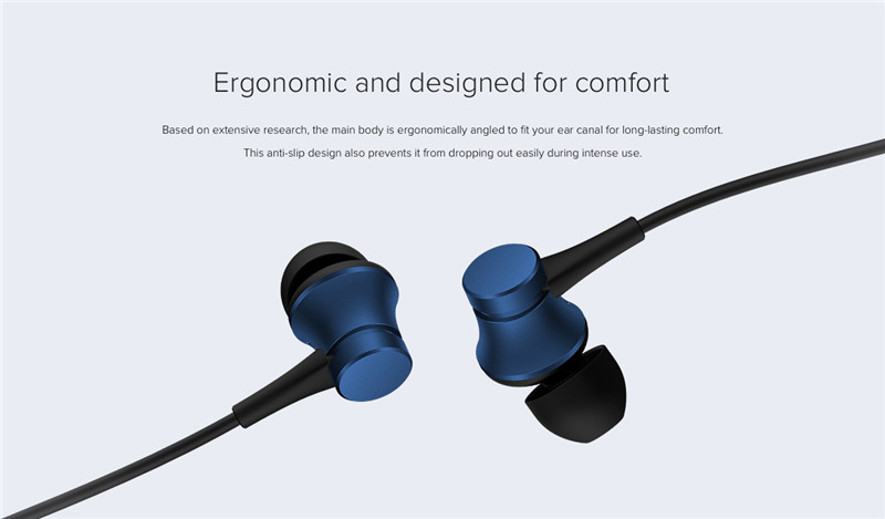 100% Official original xiaomi piston 3 earbuds earphone fresh youth version 3.5mm in-ear headset wire-controlled with Microphone 9