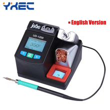 Precision Smart Lead free Soldering Station Jabe UD 1200 2.5S Rapid Heating with Dual Channel Power Supply Heating System Tools