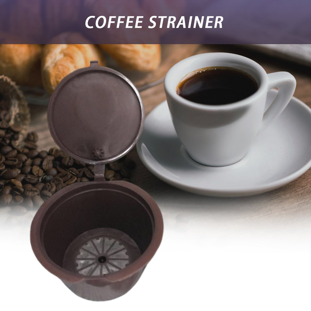Portable Filled Coffee Capsules Coffee Filter Capsule Filter Cup Filter Housing For Dolce Gusto For Nestle Hot