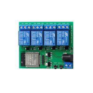 Image 2 - ESP32 4 チャンネル wifi bluetooth リレーモジュール eu ce 電源、米国の ul アダプタ充電 ttl コンバータモジュールアンドロイド ios 用