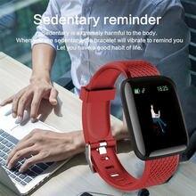 Цвет Экран умный Браслет крови Давление Измерение частоты сердечных