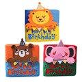 Zoo с днем рождения свободные детские подарки  японская Милая книга  канцелярские принадлежности  детский блокнот с листьями  подарок на день...