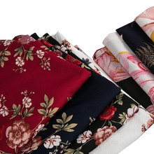 Print Knitted Fabric Cheap Stretchy Fabric For Sewing Dress Or Leggings 45*165cm/Piece TJ0552