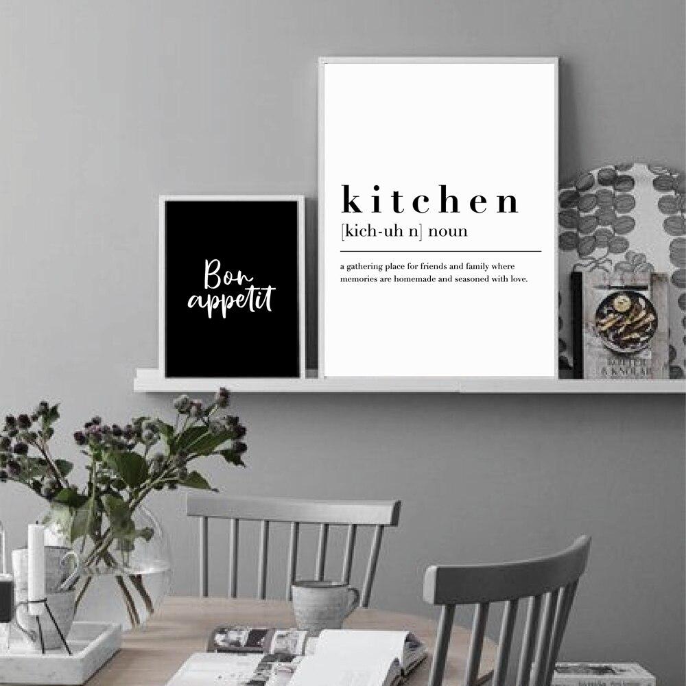Kitchen Dining Room Wall Art Prints