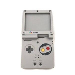 Image 3 - Sınırlı sayıda tam konut kabuk değiştirme için Nintendo Gameboy Advance SP için GBA SP oyun konsolu kapak kılıf