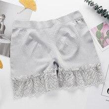 Women Safety Shorts Pants Seamless Modal Nylon Lady Waist Panties Anti Emptied Boyshorts Girls Slimming Underwear