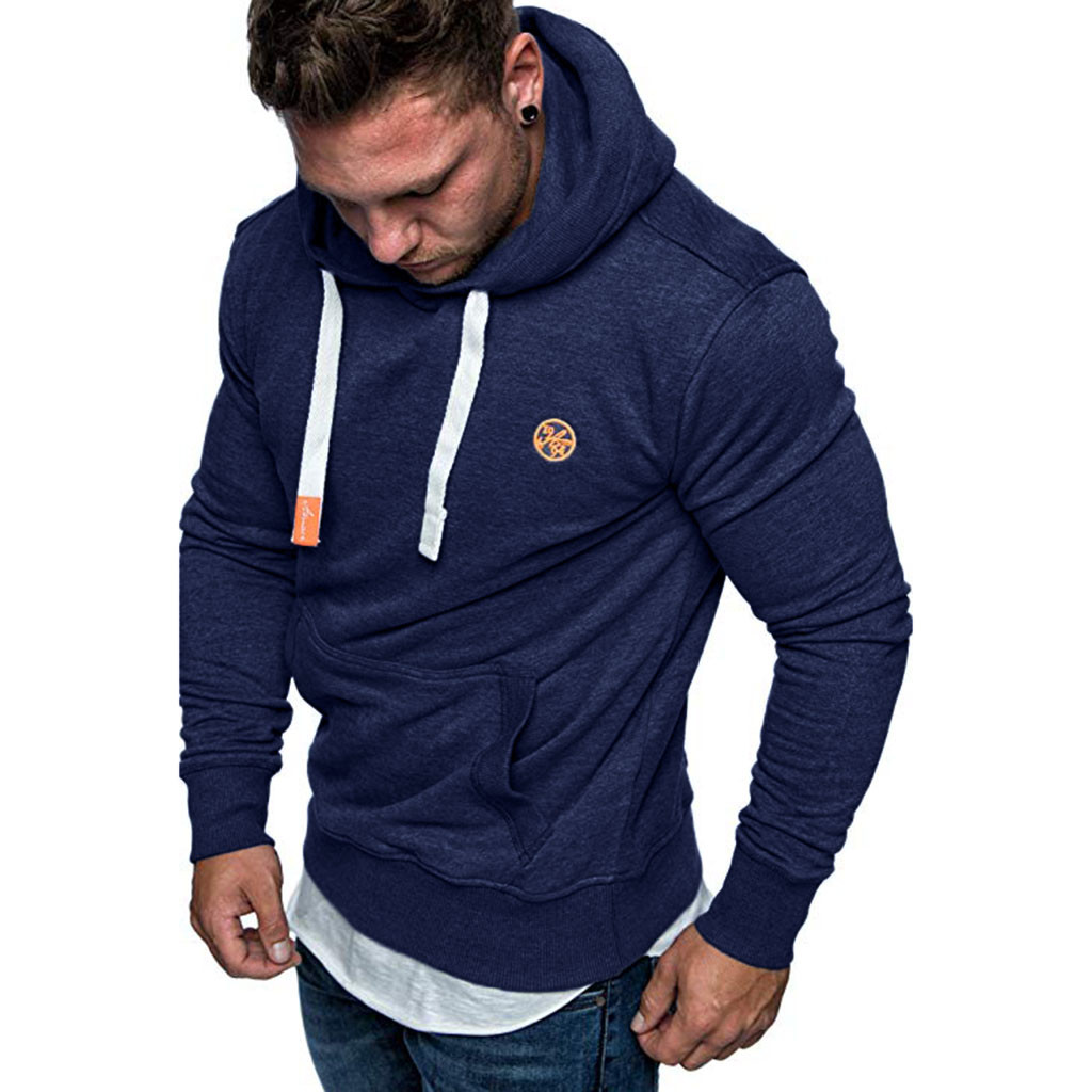 Sweatshirt Men's Hoodie Long Sleeve Autumn Winter Casual Sweatshirts Hoodies Top Blouse Comfortable Tracksuits high quality
