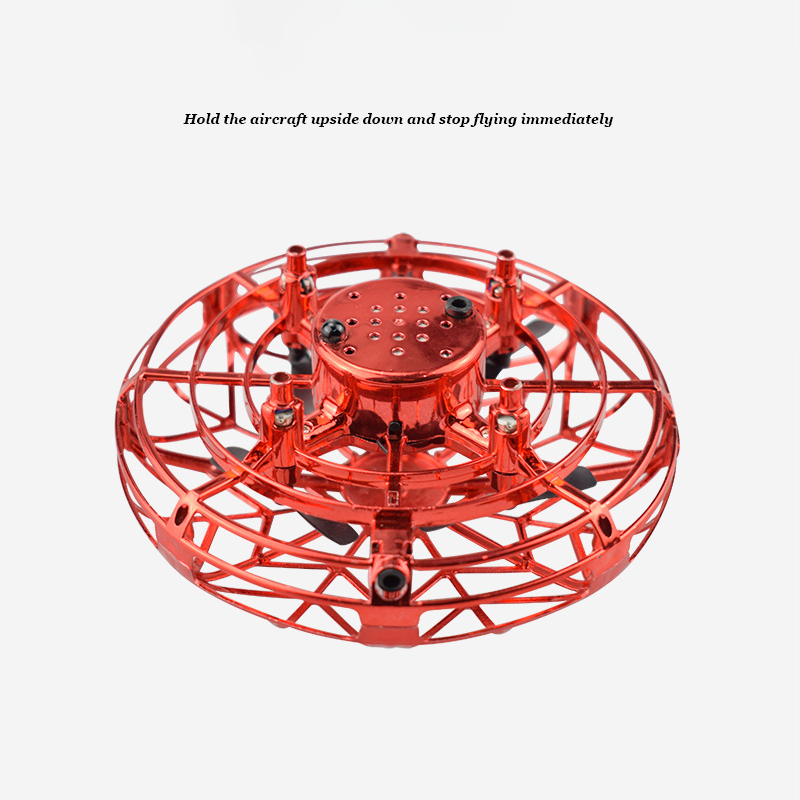 2020 Mini Drone UFO Hand Operated RC Helicopter Quadrocopter Dron Infrared Induction Aircraft Flying Ball Toys For Kids
