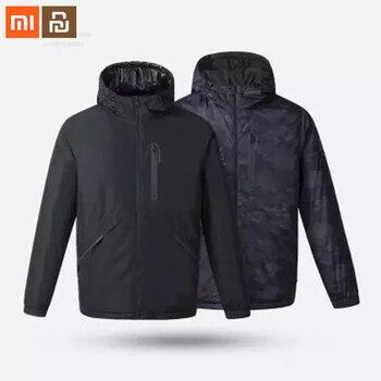 Original xiaomi Uleemark smart fever double-sided wear 3.0 men's goose down jacket double-sided wear warm jacket high quality