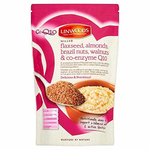 Linwoods Organic Flaxseed, Almonds, Brazil Nuts, Walnuts, CoEnzymeQ10-360g 1er Pack(1 X)