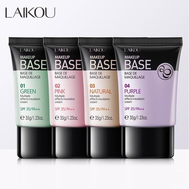 NEW Laikou Full Cover 4 Color Base Concealer Makeup 35g Eye Dark Circles Cream Face Corrector Waterproof Make Up Korean Cosmetic