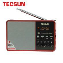 TECSUN D3 FM radyo dijital ses hoparlör 64-108 MP3 çalar ile Plug-in kart taşınabilir Internet