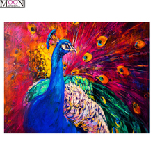 Diy Diamond Embroidery Peacock Diamond Painting Mosaic Picture Of Rhinestones,Cross-stitch Full Square&Round Painting large diy diamond painting abstract venice city of water embroidery beads cross stitch full square round mosaic decor fs4695
