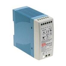 Fuente de alimentación de conmutación de carril Din Industrial, 60W, salida única, 5V, 12V, 15V, 24V, 36V, 48V, MDR 60 AC/DC/12 /24/48