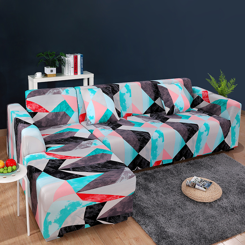 L Shape Sofa Covers For Living Room Stretch Modern Sectional Corner Sofa Couch Cover Slipcovers Chaise Longue Sofa Cover