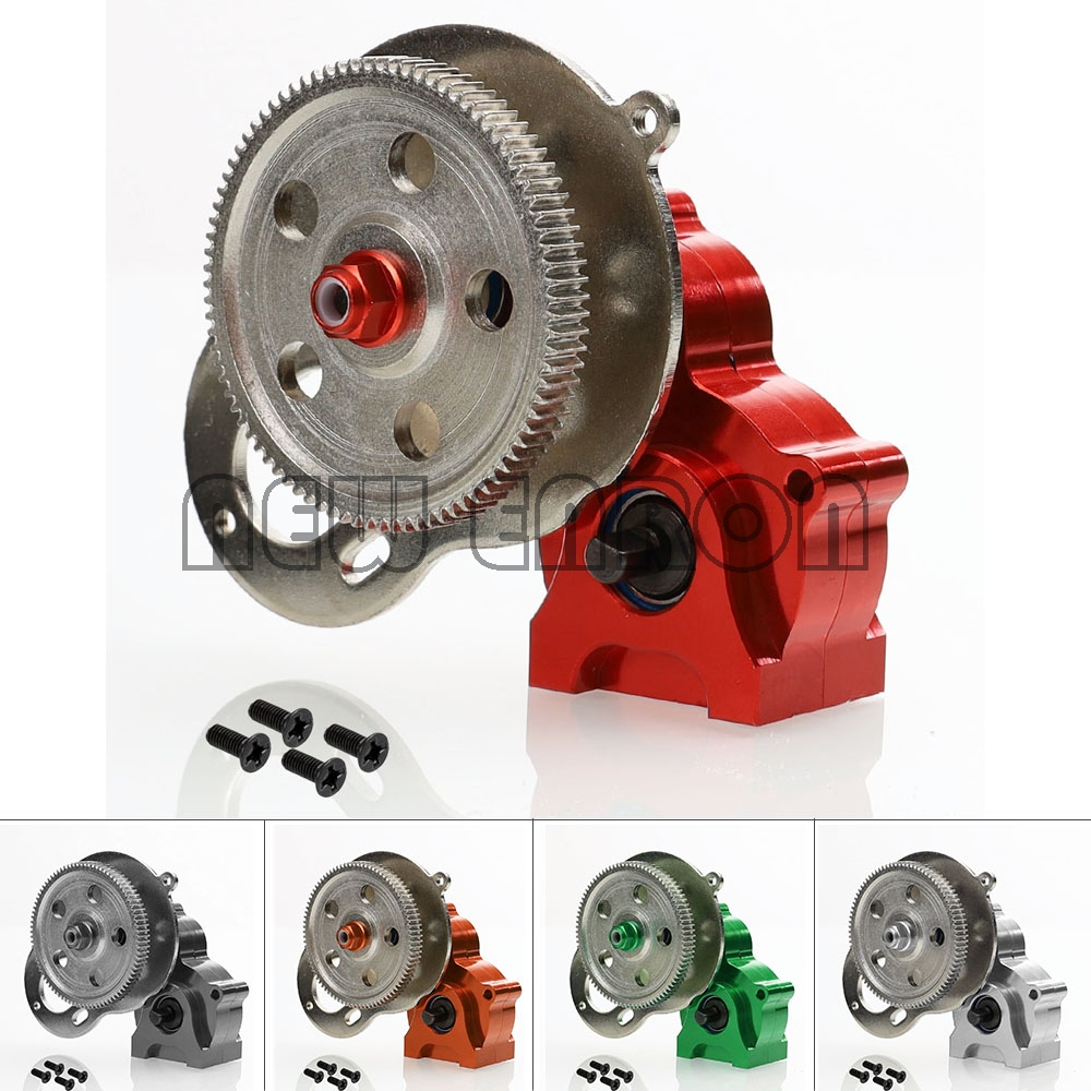 NEW ENRON Metal GearBox Set With Gear For RC 1/10 Rock Crawler HSP 94180 18024 RGT EX86100