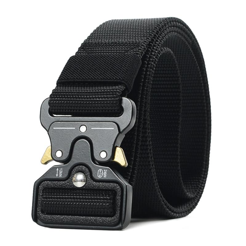 Cobra Buckle Men Tactical Belt Heavy Duty Quick Release Full Adjustable Military Belt Men