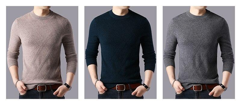 inverno grosso quente blusas casual o-pescoço pull
