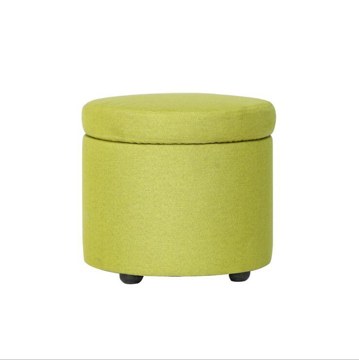 Creative Washable Cloth Storage Stool Simple Small Sofa Bench табурет