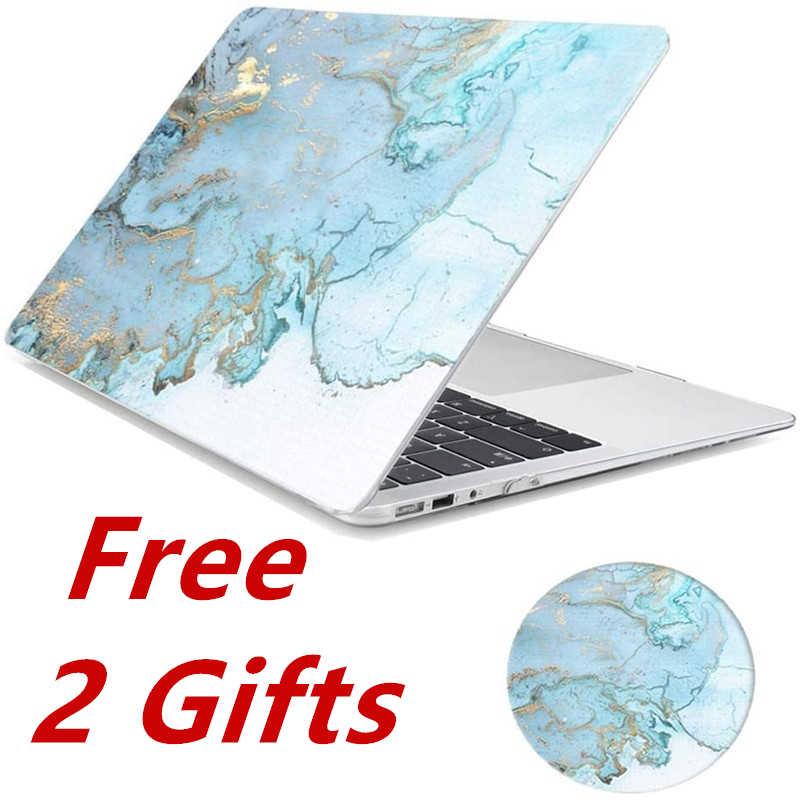 Macbook Air 13 için kılıf mermer Glitter çiçek mat net kapak için Mac kitap hava 13.3 inç A1932 2018 A1466 a1369 A2179 2020