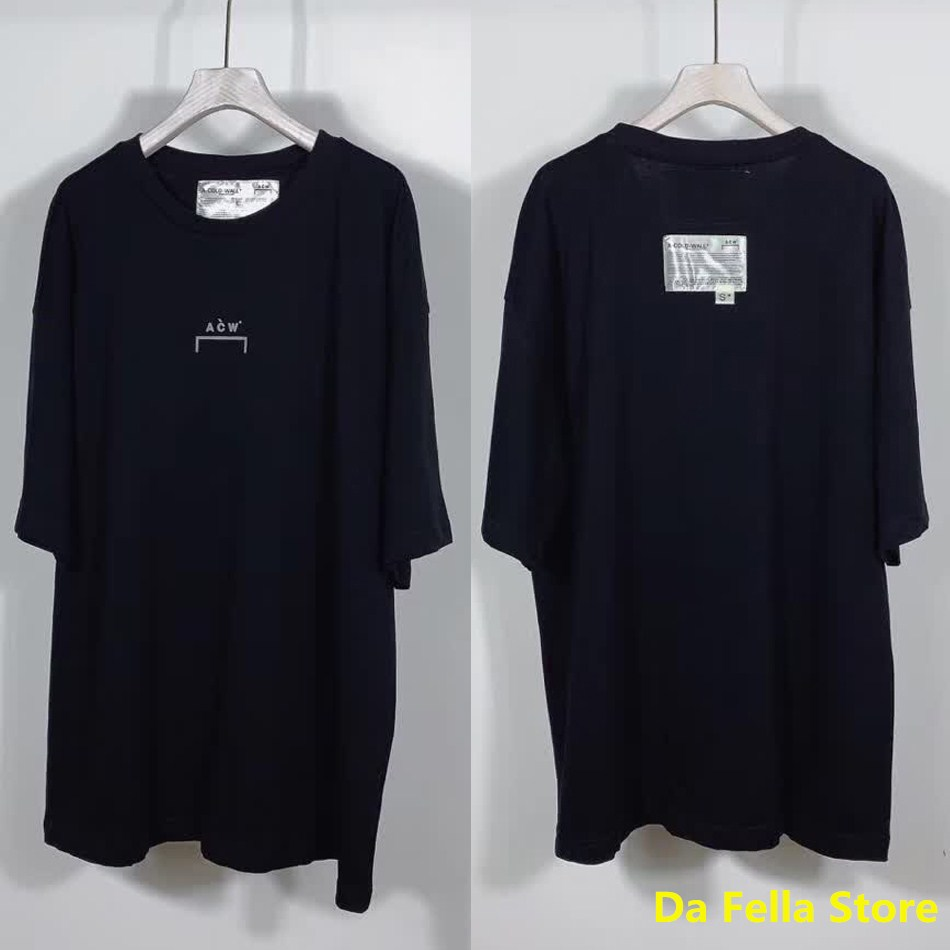 US/EU SIZE A COLD WALL T-shirt Double Tags A-COLD-WALL* Tee 2020 New Men Women Casual ACW T-shirts High Quality 1:1 Tops