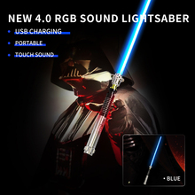 New 110cm Length Cosplay Lightsaber With Light Sound Led Red Green Blue Saber Laser New Upgrade Light Saber Toy Gift