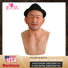 EYUNG Old William good quality realistic silicone masks, old man masquerade for
