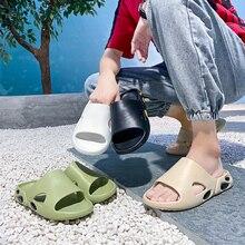 YMT Men's Luxury Slipper Designer Kanye West Men's Fashion Summer 2021 Men's Non-slip Home Casual Slipper Beach Shoe Sandal