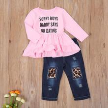Emmaaby/Одежда для маленьких девочек топы с длинными рукавами