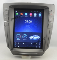 10.4 tesla style android 6.0 Quad core Car GPS radio video Navigation for Lexus IS IS200 IS220 IS250 IS300 IS350