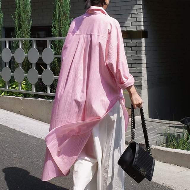 Lapel Spring Long Sleeve Blouse 2