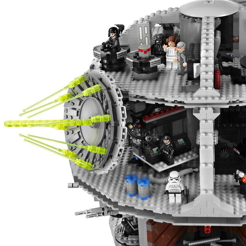 05035 stern Set Wars Todesstern 3804 stücke Baustein Ziegel Spielzeug Kits Kompatibel Legoinglys 10188 Kinder Pädagogisches Spielzeug - 3