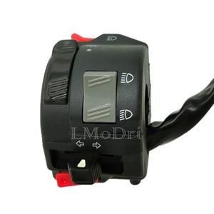 Image 3 - LMoDri 7/8 22mm Handlebar Motorcycle ATV Switches Headlight Fog Light Turn Signal Horn High/Low Beam Button in 1 Multi Switch