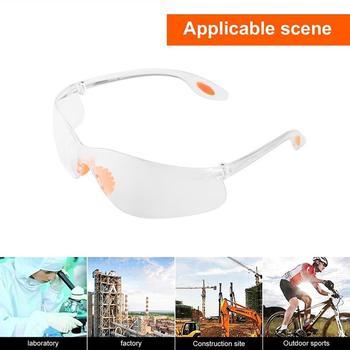 12 sztuk paczka bezpieczeństwo pracy okulary ochronne okulary robocze pyłoszczelne gogle przeciwmgielne ochrona oczu artykuły bezpieczeństwa tanie i dobre opinie Other