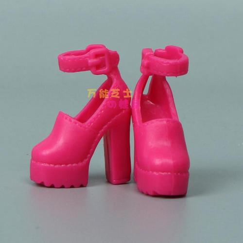 1/6 Doll Accessories Fashion Sneaker Flat Shoes Genuine Sandals Shoeshigh-heeled shoes for Barbie Doll Shoes 16