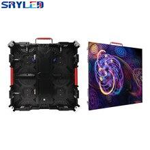 Yeni P3.91 LED Video paneli duvar kapalı yüksek çözünürlüklü 3840HZ garanti 500x500mm