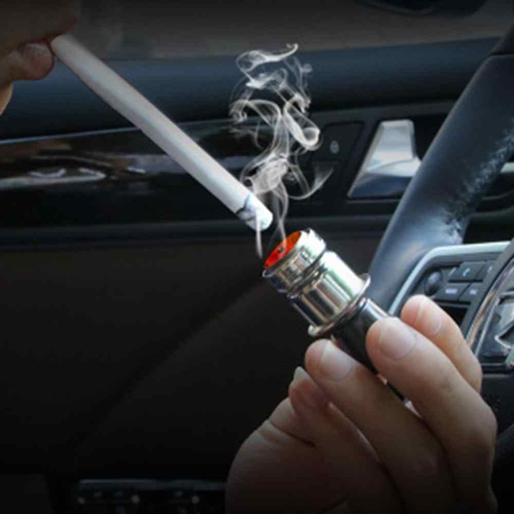 Yeni çakmak erkek buttu isitici araba oto 12 Volt yedek aksesuar araba malzemeleri