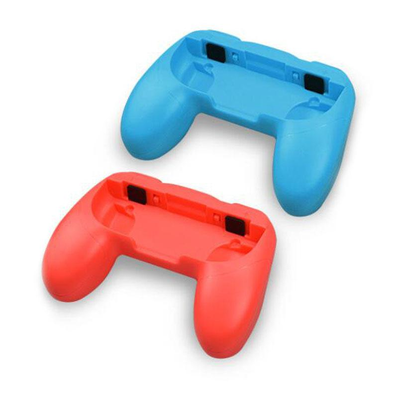 2Pcs Plastic Anti-skid Handle Anti-Collision Handgrip Brackets Protective Shell For Nintendo Switch Joycon Controllers