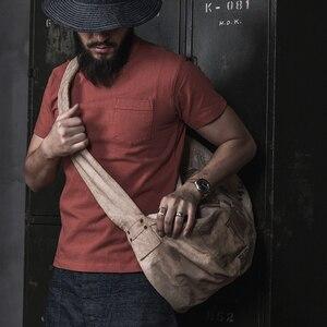 Image 3 - Bronson Chắc Chắn Bỏ Túi Áo Thun Thể Thao Phù Hợp Với Nam Giới Của Thủy Thủ Đoàn Cổ Áo Sơ Mi