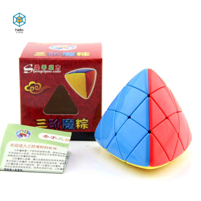 ShengShou 6x6x6 Mastermorphix 4pcs Set 2x2 3x3x3 4x4x4 5x5x5 Magic Cube Rice Dumpling Brain Teaser Christmas