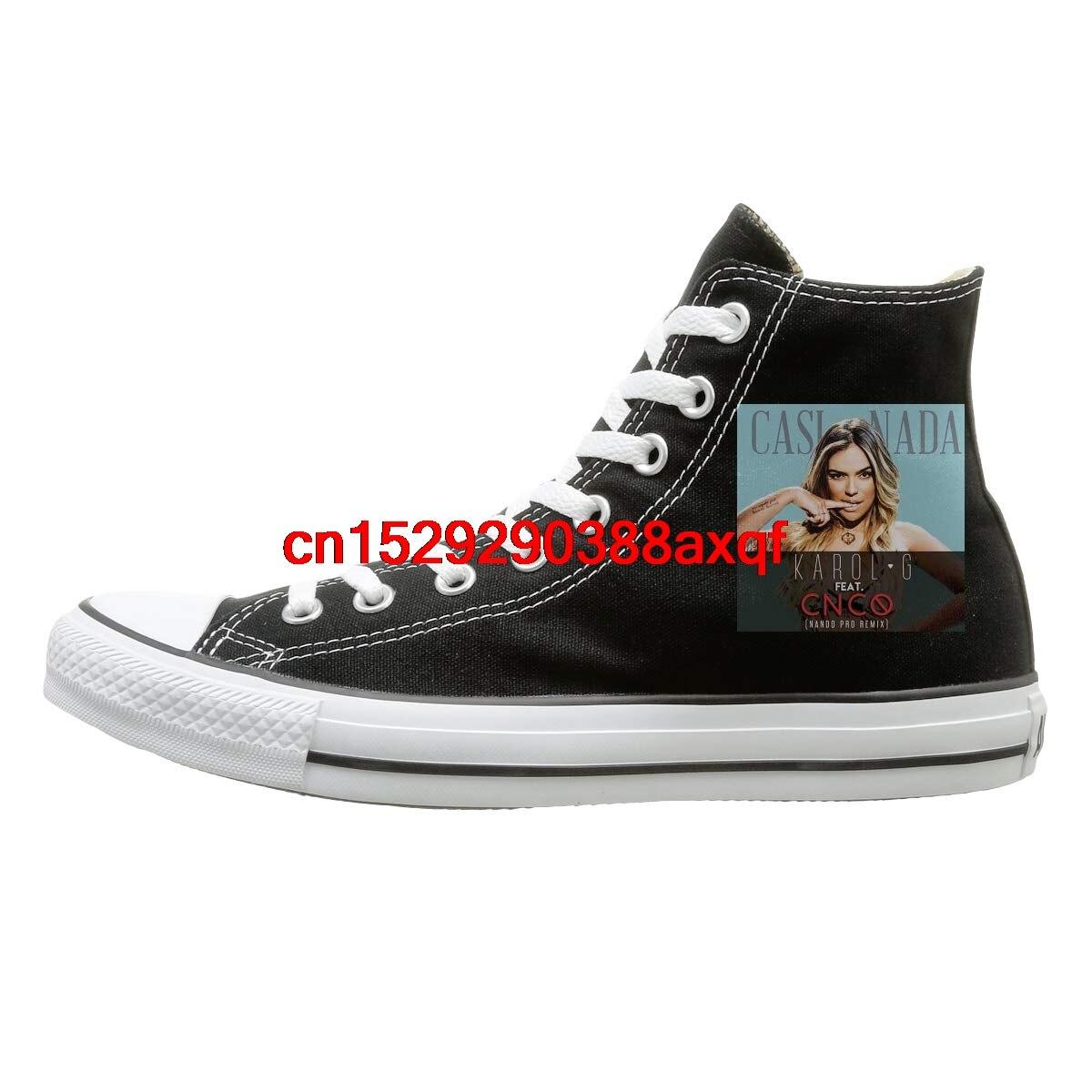 High top Canvas Shoes Sneaker Karol G