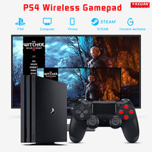 Wireless Controller for PS4, Bluetooth Remote Game Controller Micro USB Gaming Joypad with Dual Shock for PS4/Pro/Slim