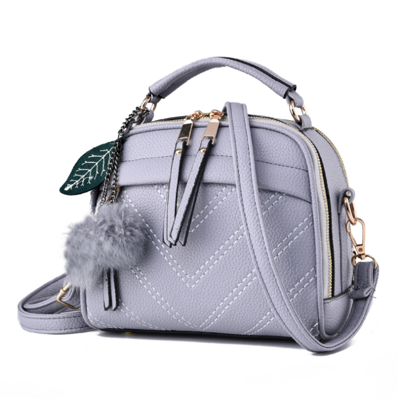 Spring And Summer New Style Women's Bag Fashion Trend Handbag Korean Version PU All Match Briefcase